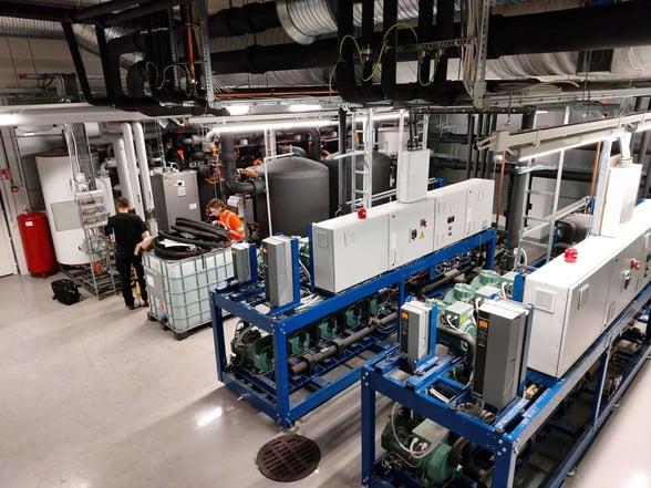 K-Citymarket Lohjan lämpöpumppujärjestelmä