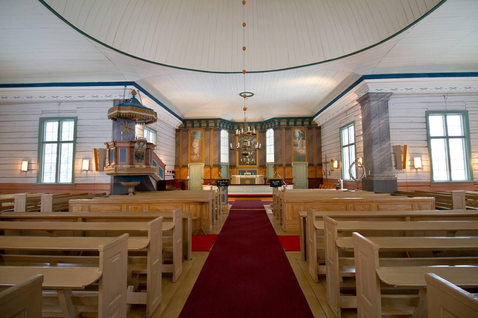 Ylikiiminki kirkko sähkölämmitys maalämpö