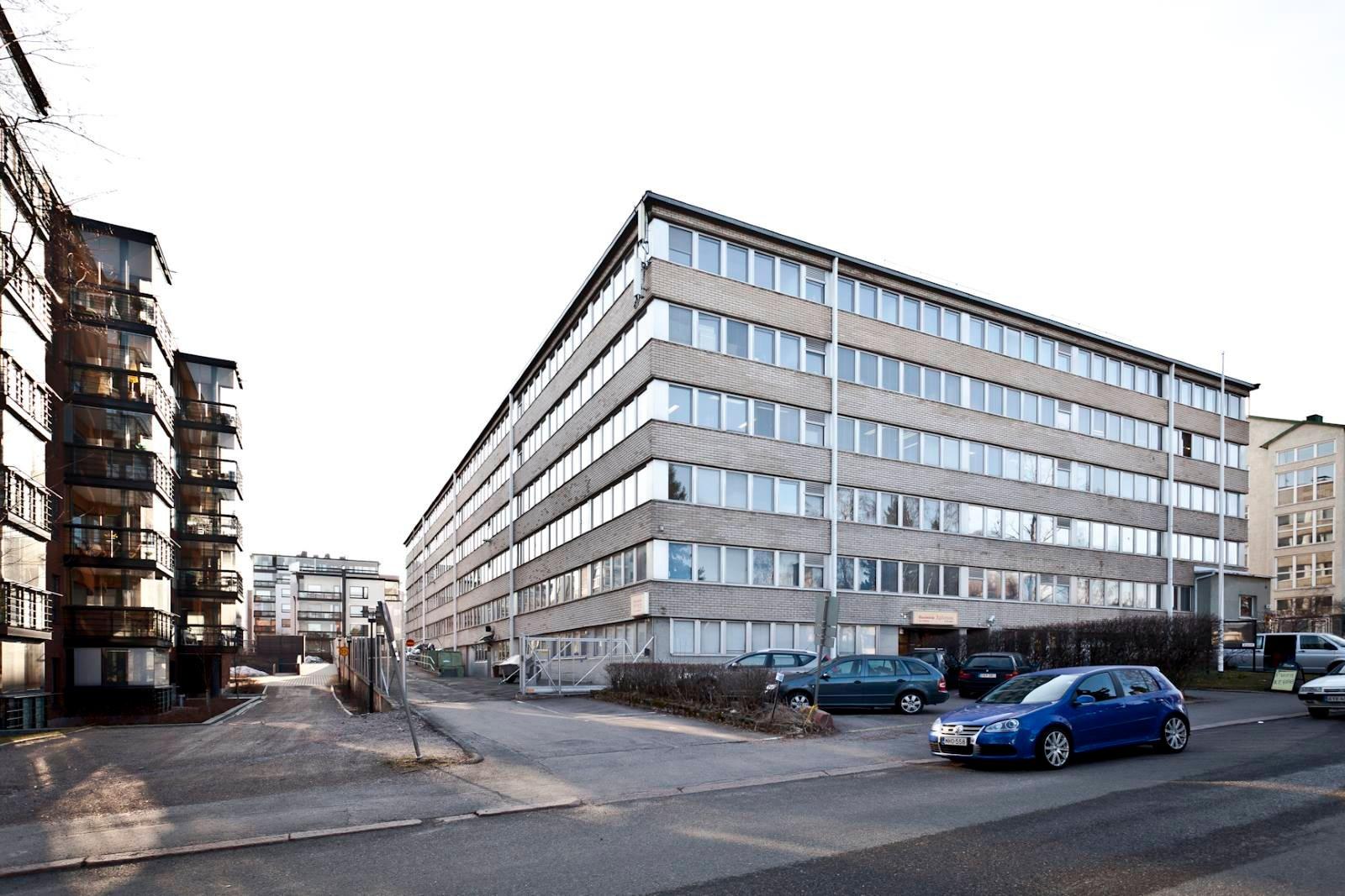Lauttasaaren Pienteollisuustalo Helsinki kaukolämpö maalämpö