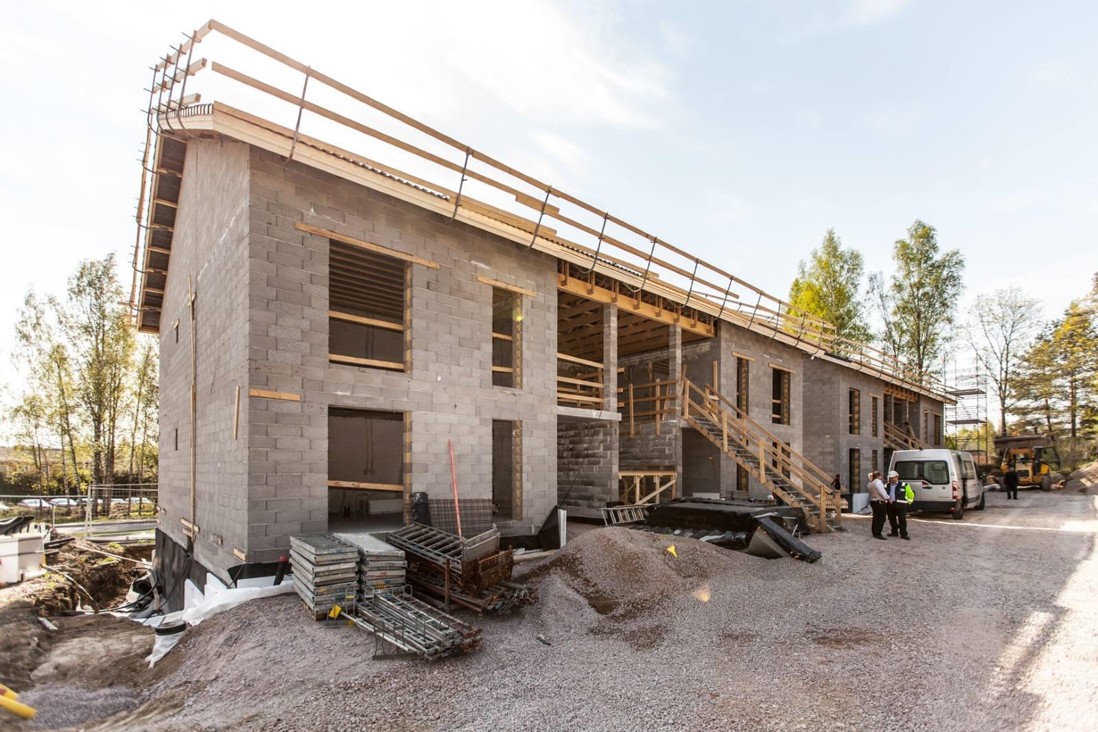 Bassotalojen maalämpötalot Espoossa myytiin jo rakennusvaiheessa