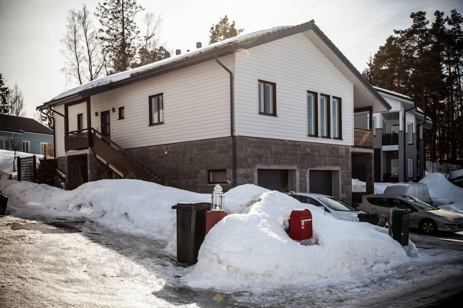 Omakotitalo maalämpö Pohjois-Vantaa