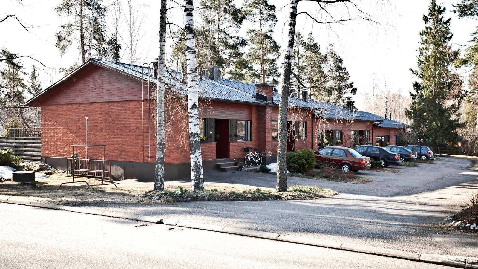 Maalämpö rivitaloon Lintukalliontie Vantaa