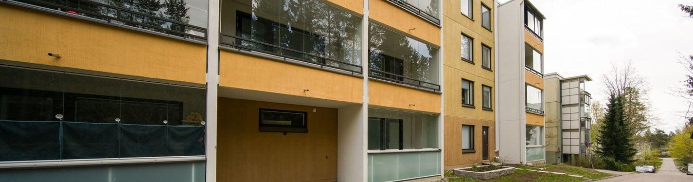 Kerrostalo Järvenpää maalämpö ja LTO