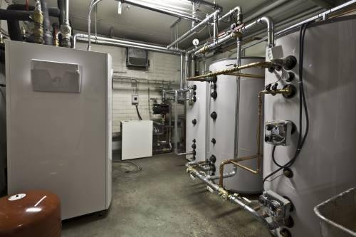 Taloyhtiön uusi lämmöntuotantokeskus