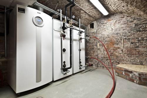 Espoonkartanon siipirakennuksen lämmönjakohuone