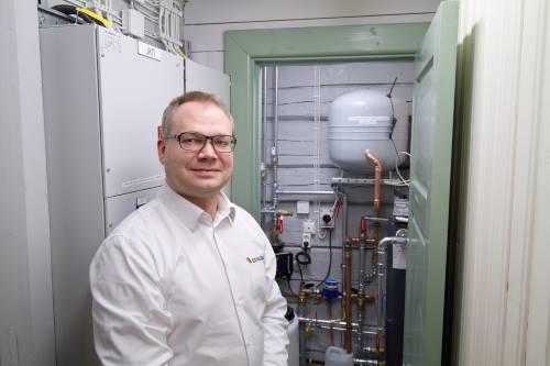 Senera Oy:n Oulun seudun projektipäällikkö Olli Hintsala